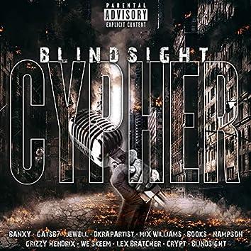 Blindsight Cypher (feat. Crypt, Grizzy Hendrix, Lex Bratcher, Gatsb7, DKRapArtist, We Skeem, Mix Williams, Nampson, Books, Banxy & Jewell)