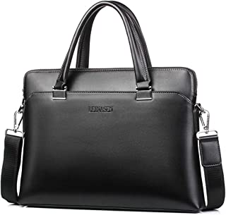 New PU Leather Men's Bag, Diagonal Shoulder Bag, Portable Men's wear-Resistant Computer Bag,