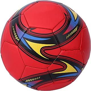 SALUTUY Rozmiar PCW 5 treningowa piłka nożna, piłka Scooer z technologią montażu na gorąco i kolorową piłką kolor do profe...