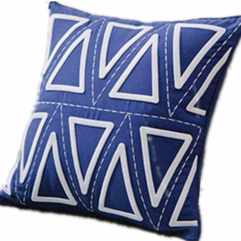 傾向があるフェッチガイドラインLJUYDZT 枕コットンスクエアカラフルな多機能ソファ装飾枕クッション枕自宅で適用可能