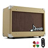 Donner 15W AMP Acoustic Guitar Amplifier Kit DGA-1 with 10 Feet Guitar Cable (Renewed)