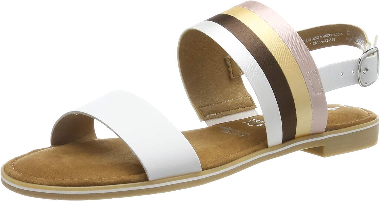 Tamaris Women's Ankle Max 86% OFF Save money Sandals Strap