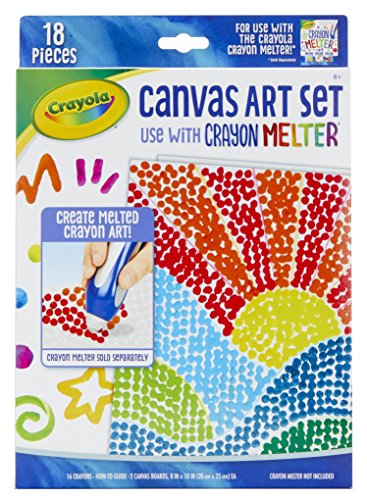 Crayola Pixel Art, Crayon Melter Expansion, Gift for Kids, 8, 9, 10, 11