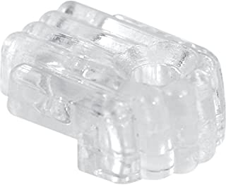 Prime-Line Products U 9002 Mirror Clip, Standard, 1/8-Inch Glass with Screw and Anchor,(Pack of 6)