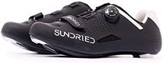 Sundried Mens Pro Road Bike Shoes use with Cleats MTB, Spin Cycle, Indoor Riding Road Cycling
