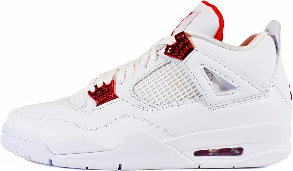 Air Jordan 4 Retro Blanc Ct8527-112 : Amazon.fr: Chaussures et Sacs
