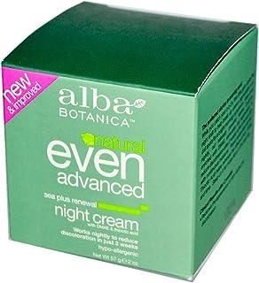 Alba Botanica, Even Advanced, Sea Plus Renewal Night Cream, 2 oz (57 g)