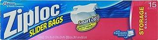 Ziploc Easy Zipper Storage Bags, Gallon Size