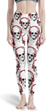 HXshqian Leggings Sport Yoga Pants Dames Skull Wor...