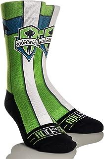 Rock 'Em Apparel MLS Seattle Sounders FC Custom Athletic Crew Socks