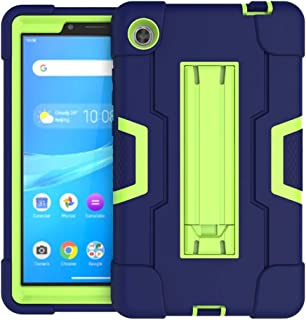 Koolbei Case for Lenovo Tab M7 Case,Heavy-Duty Drop-Proof and Shock-Resistant Rugged Hybrid case(with Built-in Stand),for ...