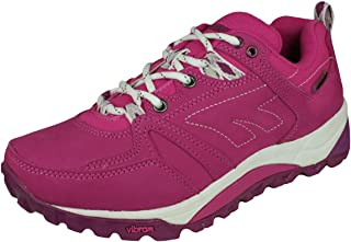 Hi Tec V Lite Sphike Nijmegen Low Womens Walking/Trail Trainers - Blue-Pink-8.5
