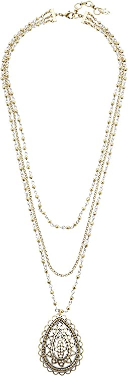 Lucky Brand - Openwork Layer Necklace