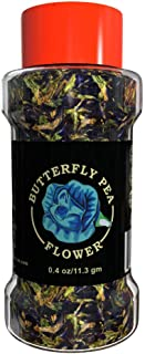 Blue Tea - Premium Dried Organic Butterfly Pea Flowers | Carefully Selected & Sun Dried | High Antioxidants & Anti-Ageing | Promotes Calmness & Stress Relief | Caffeine Free | NON GMO | Gluten Free | 0.4 Oz