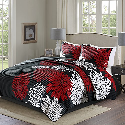red and white comforter - 4
