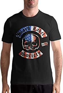 Black Label Society T Shirt Sports Mens Tops Short Sleeve Tee