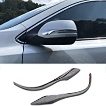 Beautost Fit For Honda 2017 2018 2019 CR-V CRV Chrome Rear view Mirror Side Molding Cover Trims