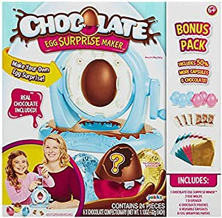 Chocolate Egg Surprise Maker Bonus Pack 24 PIECES