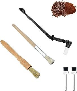 Pinceaux machine à expresso/Brosse à manche en bois/accessoires pour café/nettoyage de café à la cuillère/Café Moulin à ca...