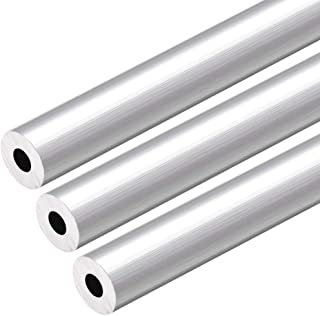 6063 Aluminum Round Tube 1 Feet Length 0.195 Inches ID 0.312 Inches OD
