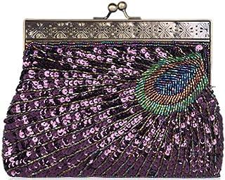 Women's Banquet Bag Quality Hand Bag Boutique Beaded Shoulder Bag Retro Banquet Diagonal Package Cheongsam Accessories Dress Bag