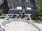 Hunde Katzen Fahrradkorb Weide Rattan Schutzgitter Gepäckträger hinten Gitter - 5