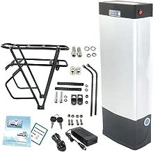 Hot Sale! E-Bike Battery Lithium 48V 20AH with USB and Taillight for 1000W Motor (USA Warehouse) (48V 20AH Battery +Black V Rack)