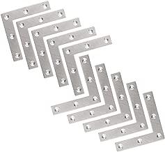 KWOKWEI Edelstahl Winkelverbinder 90 Grad mit 80 Schrauben L Form Winkel Bracket Eckwinkel Klammer 40 * 40mm* 16 mm Ecke Klammer M/öbel Winkel f/ür Tabelle Stuhl B/ücherregal 20 St/ücke Winkel Klammern