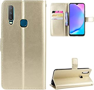 Jeteu-case HD Case for VIVO Y15 Case Flip leather + TPU Silicone fixing Cover 2