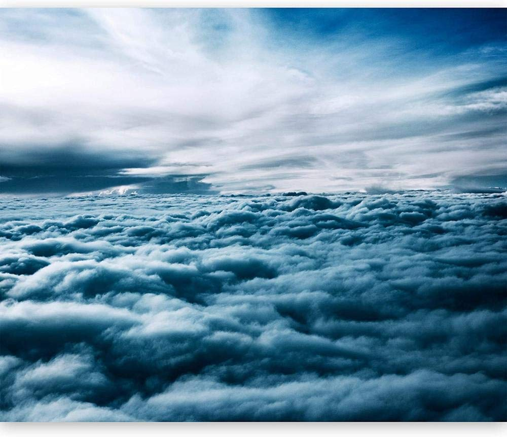 Mural Wall Photo 3D on top Be super welcome 67% OFF of fixed price Modern The clouds-350 sea
