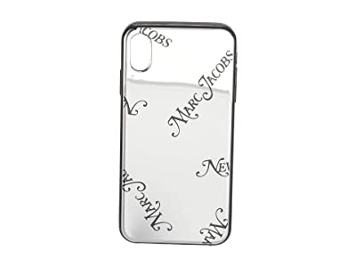 Marc Jacobs iPhone XS Max Case (Silver) Cell Phone Case