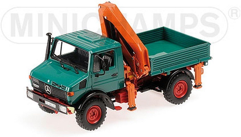 Mercedes Unimog 1300 L, grün, 0, Modellauto, Fertigmodell, Minichamps 1 43