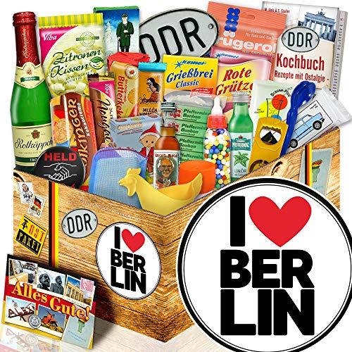 I love Berlin / Geschenkbox DDR Waren / Berlin Geschenk