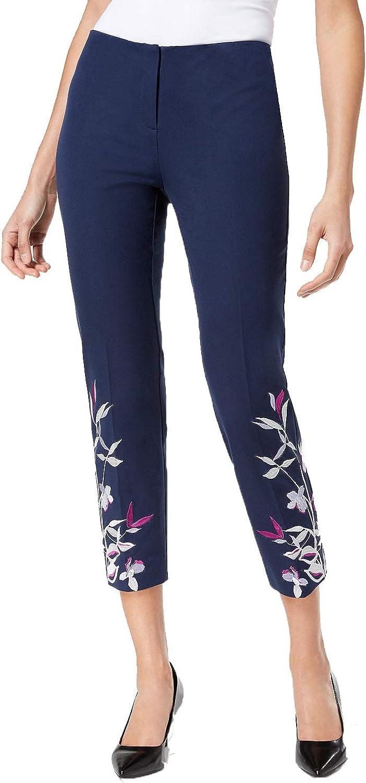 Alfani Hollywood Embroidered Skinny Pants