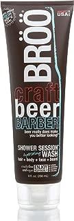 BRÖÖ Craft Beer Barber Shower Session Wash - 9.0 fl.oz.(266 ml) - Fresh Hop'd