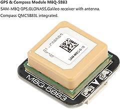 Makerfire GPS Compass Module, Mini FPV GPS Module,M8Q-5883 Ublox SAM-M8Q GPS QMC5883L Compass Module for RC Drone FPV Racing