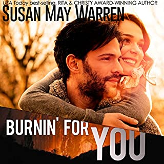 Burnin' for You audiobook cover art