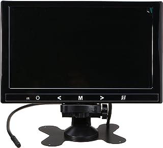 GOZAR 9 Pulgadas HD Coche Retrovisor LCD Ultra Delgada Monitor Inversión Estacionamiento Respaldo Kit De Pantalla