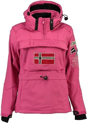 Geographical Norway - Softshell Femme Tilsitt Rose
