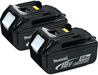 Makita BL1850-2 18-volt LXT Lithium-Ion 5.0Ah Battery, 2-Pack- Discontinued by Manufacturer (Discontinued by Manufacturer)