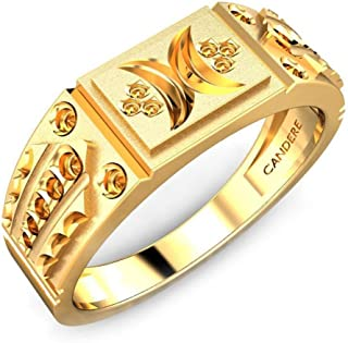 Candere By Kalyan Jewellers Yellow Gold Ring for Men