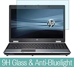 """Synvy Anti Blue Light Tempered Glass Screen Protector for HP ProBook 6440b 14"""" Visible Area 9H Protective Screen Film Prot..."""