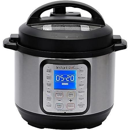 Instant Pot Duo Plus Mini 3 Quart 9-in-1 Electric Pressure Cooker, Slow Cooker, Rice Cooker, Yogurt Maker, Egg Cooker, Sauté, Steamer, Warmer & Sterilizer, 15 One-Touch Programs