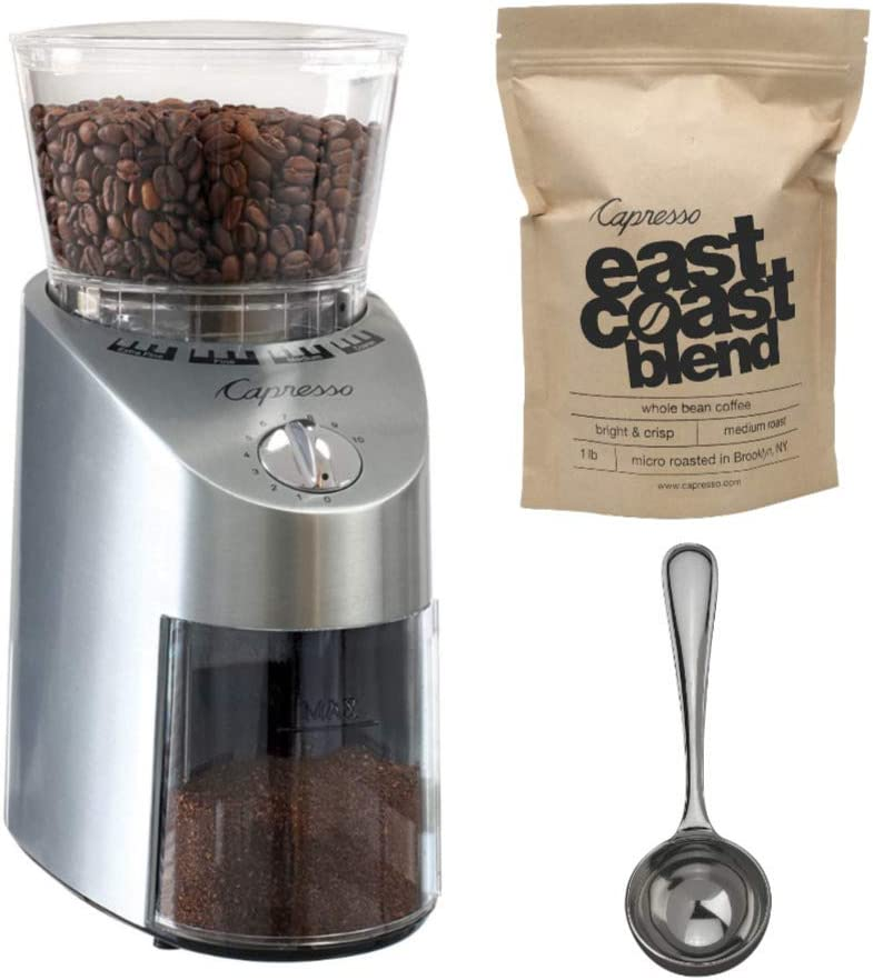 Capresso 565.05 Infinity Conical Sales of SALE items from new works Burr Grinder with Bundle C Popular brand in the world East