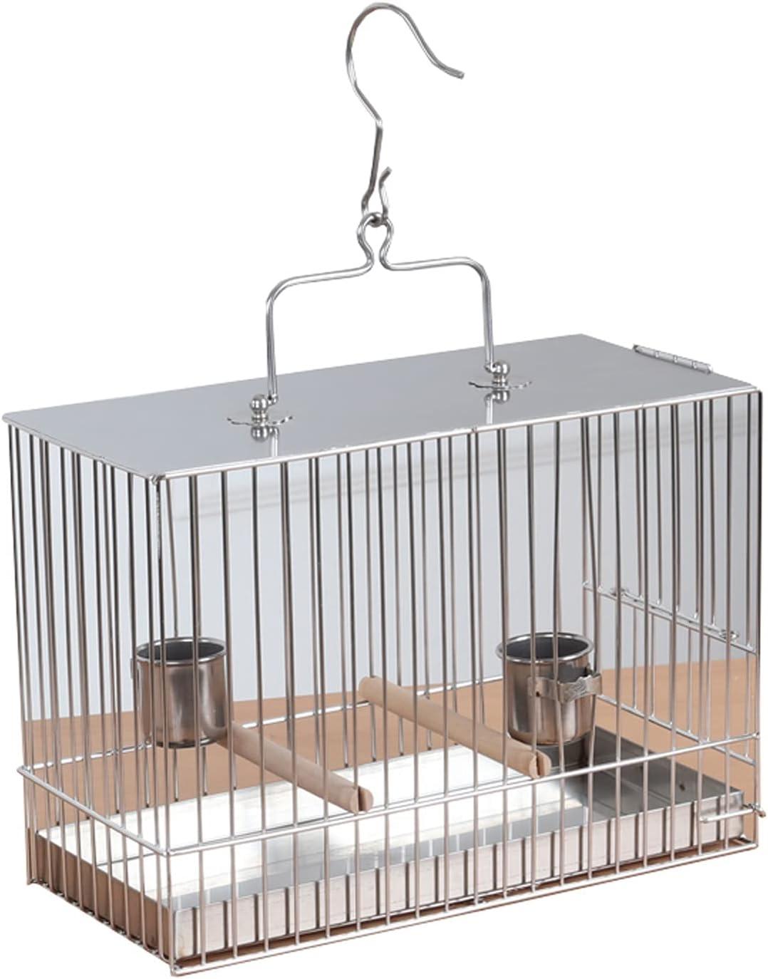 wanhaishop Bird Perches Portable Carrier Li Steel Stainless Max 56% OFF Oakland Mall