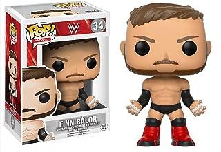 Finn Balor: WWE x Funko POP! WWE Vinyl Figure & 1 PET Plastic Graphical Protector Bundle [#034 / 14249 - B]