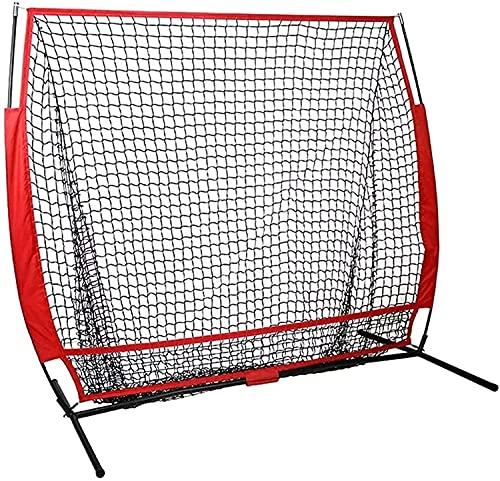 RDJSHOP Golf Nets Mats, Pratica da baseball Net Softball Practice Practice Net con telaio Colpire Pitching Batting Catching Backstop Attrezzature Attrezzatura Formazione Strike Zone per inizio e avanz