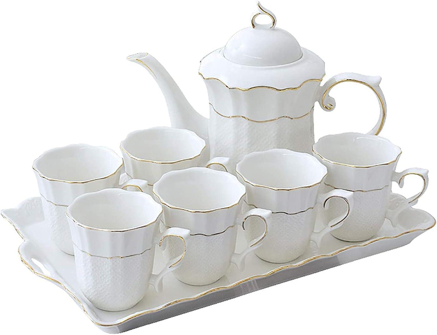 TEAYASON European quality assurance Pastoral Style Simple Bone Nippon regular agency S 8-Piece Tea China