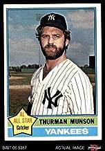 1976 Topps # 650 Thurman Munson New York Yankees (Baseball Card) Dean's Cards 6 - EX/MT Yankees