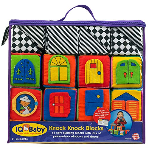Small World Toys IQ Baby - Knock-Knock Blocks